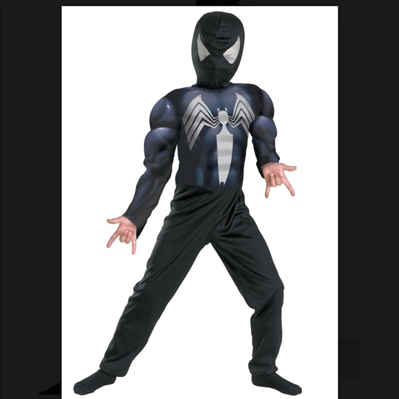 Black Dark Spider-Man Costume 4 5 6 & Marvel Costumes | Black Dark Spiderman Costume 4 5 6 | Poshmark